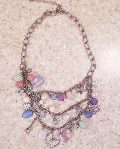 NWOT Charm Statement Necklace